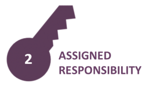 Assigned responsibility