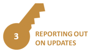 Reporting Out on Updates